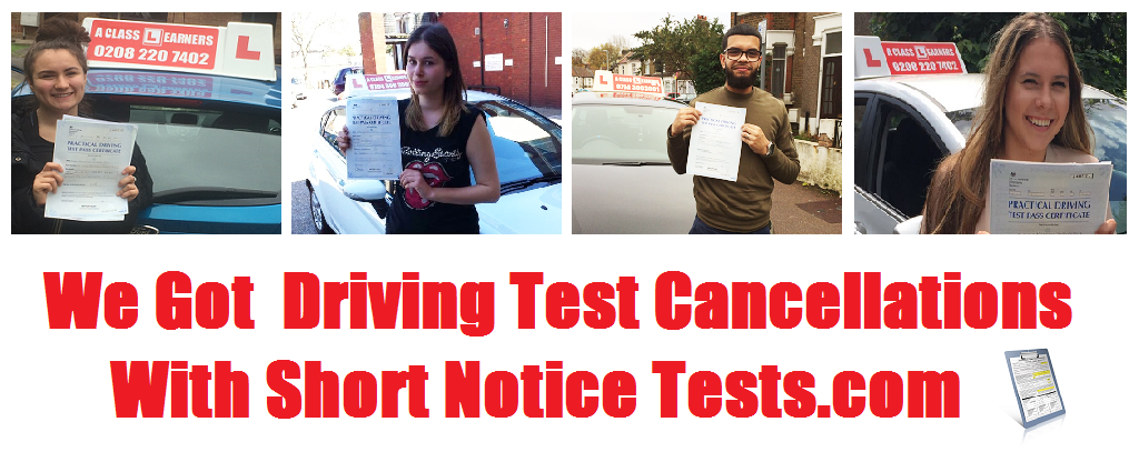driving test cancellation image