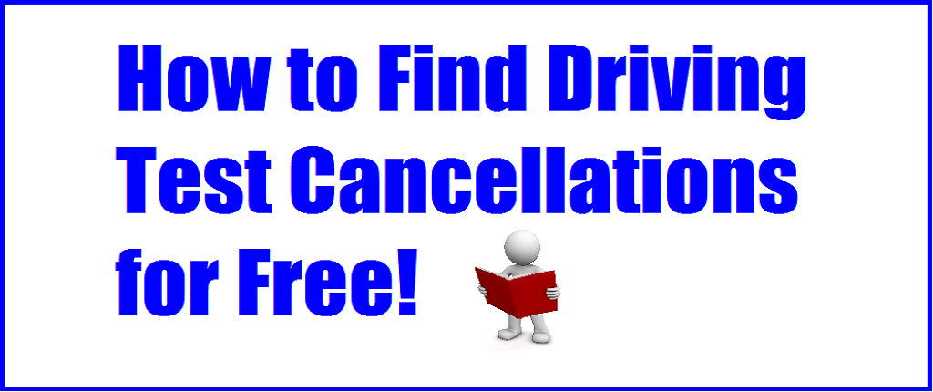 how to find driving test cancellations for free picture